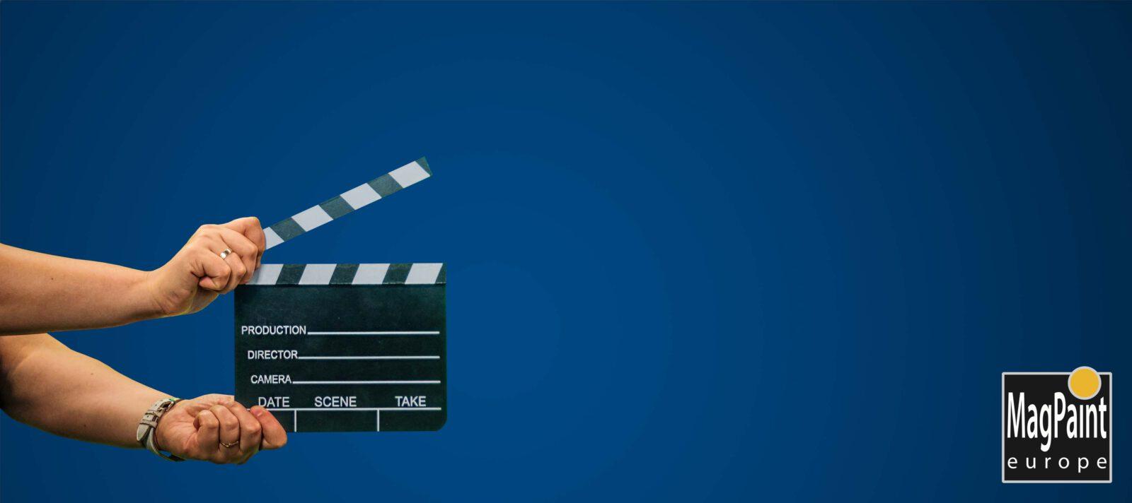 bluescreen verf filmen