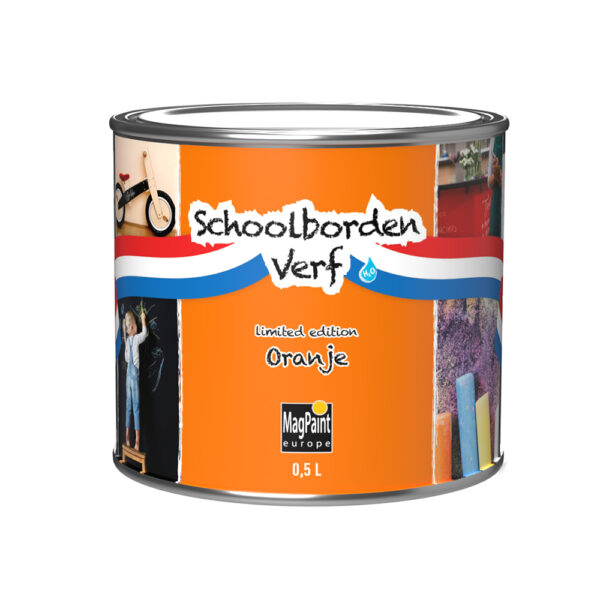 Oranje Schoolbordenverf