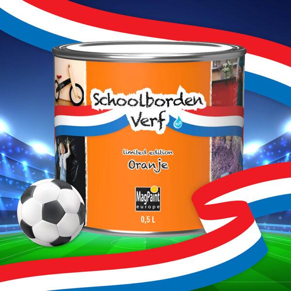 Oranje Schoolbordenverf EK